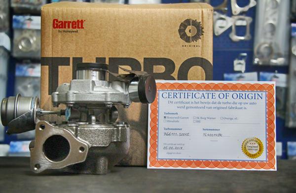 turbo direct certificate of origin